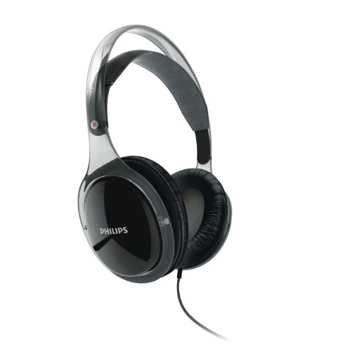 Philips Shh9567 The Stretch Style Headphones Ipod/Iphone Headset With Mic & Remote (Clear Black) Limited Edition
