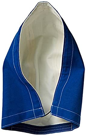 Ansell Sawyer-Tower 66-674 CPC Nomex Trilaminate 3 Piece Hood, Blue