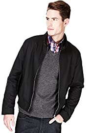 Autograph Pure Cotton Harrington Jacket