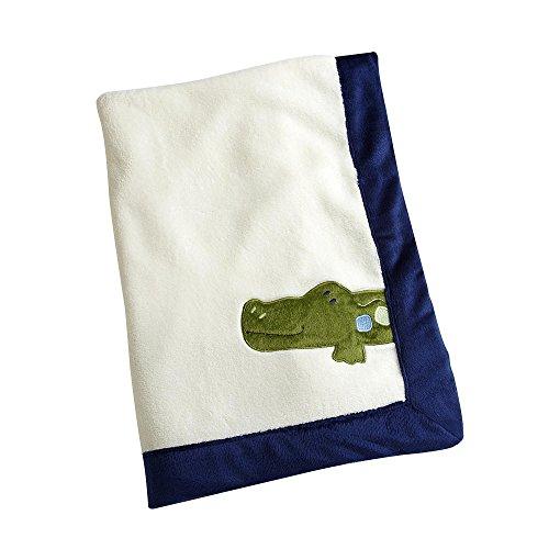 Alligator Baby Bedding 8934 front