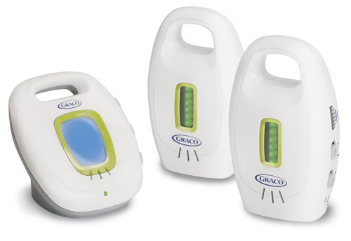 Graco UltraClear Analog Baby Monitor with 2 Parent Units - 1