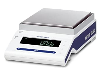 Mettler Toledo MS6002SDR NewClassic Precision Balance, with Delta Range, 1.22kg/6.2kg Capacity, 0.01g/0.1g Readability