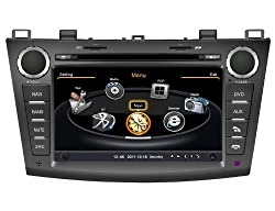 See susay(TM) for 2009 2010 2011 Mazda3 Car DVD Player With GPS Navigation(free Map)Audio Video Stereo System with Bluetooth , USB/SD, AUX Input, Radio(AM/FM), TV, Plug & Play Installation Details