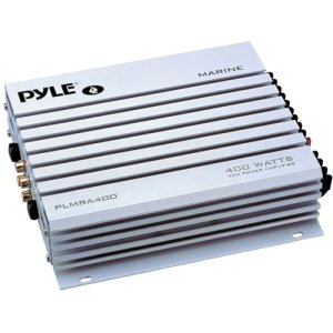 Pyle Plmra400 400-Watt 4-Channel Waterproof Marine/Car Amplifier