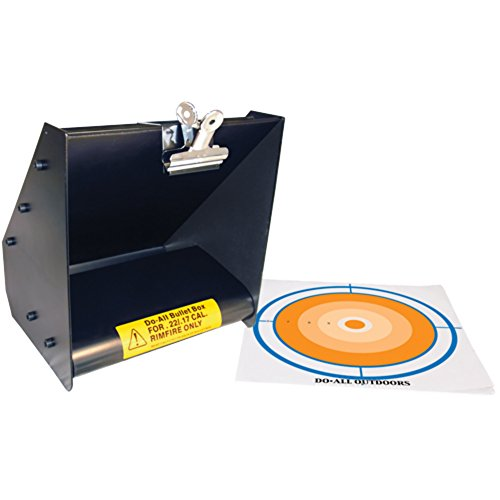 Do-All Outdoors - Bullet Box, Rated for .22/.17 Caliber (Pellet Trap 1200 Fps compare prices)