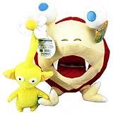 "10""Bulborb/Chappy Pikmin Plush Doll & Yellow Flower 10""Plush Toy Doll"