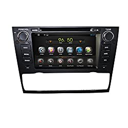See 1Din Android Car DVD Player For BMW E90 Saloon E91 Touring E93 Cabriolet Color Black 7Inch Details