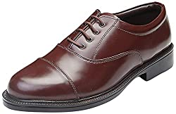 Go Mens Brown Leather Formal Shoes,9 UK