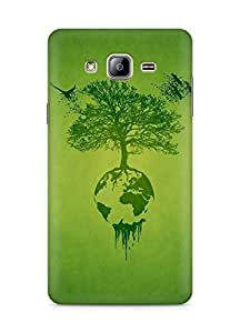 AMEZ Tree bird drawing nature Back Cover For Samsung Galaxy ON5