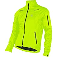 Canari Cyclewear 2014 Men's Everest Cycling Jacket - 1731 (Killer Yellow - XL)