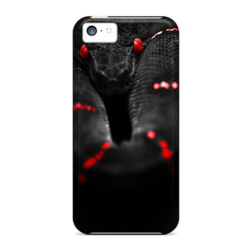 Alleternity Store Snap On Hard Case Cover Deadly Snake Protector For Iphone 5C