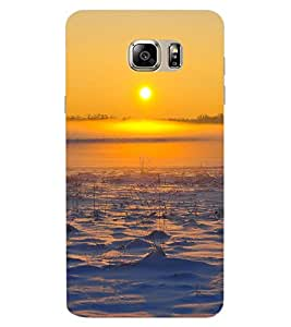 ColourCraft Lovely Sunset Design Back Case Cover for SAMSUNG GALAXY NOTE 6