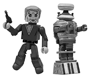 Diamond Select Toys San Diego Comic-Con 2013 Lost in Space Black-and-White Minimates Action Figure, 2-Pack