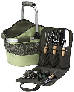 Garden Tool Basket – Green