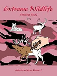 Extreme Wildlife: Coloring Book