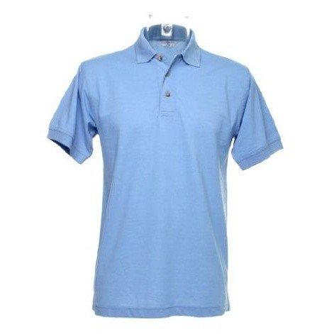 Kustom Kit Workwear Mens Short Sleeve Polo Shirt (XS) (Light Blue)