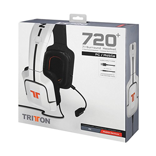 Tritton 720+ 7.1 Surround Headset For Pc And Mobile Devices
