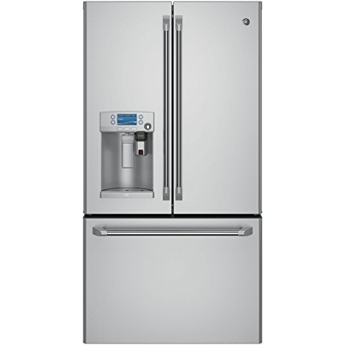 G.E. CYE22USHSS Caf CYE22USHSS 22.2 Cu. Ft. Stainless Counter-Depth French Door Refrigerator with Keurig (Counter Depth French Door Fridge compare prices)