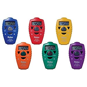 Robic SC-512 Handheld Countdown Timer 6 Pack Assortment