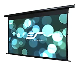 Elite Screens ELECTRIC125HT Spectrum Tab-Tensioned Motorized Projection Screen (125
