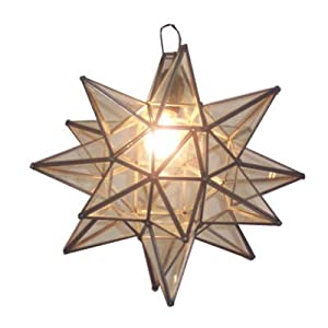 3D German or Moravian Star pattern :: Fused & Stained Glass Source