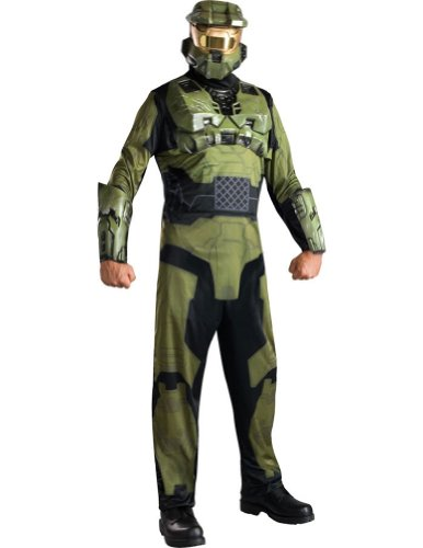 Halo Master Chief Adult Costume Standard Halloween Costume
