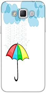Snoogg abstract rainy season background with clouds Hard Back Case Cover Shield For Samsung Galaxy Grand Max