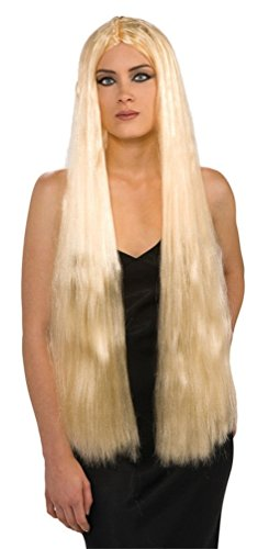 Rubie's Costume Super Long Blond Witch Wig, Yellow, One Size