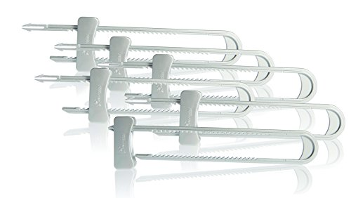 Dreambaby Cabinet Sliding Lock, Silver, 6 Pack - 1
