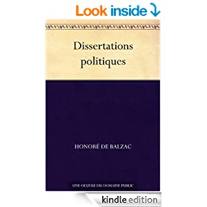 Dissertations politiques (French Edition)