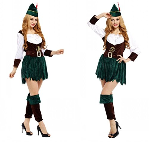 Ponce Halloween Cosplay Costumes Woman Female Adult Clothes Tights