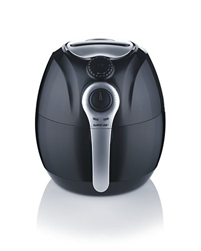 Cheapest Price! GoWISE USA GW22622 2nd Generation Electric Air Fryer w/ Temperature Control, Detacha...