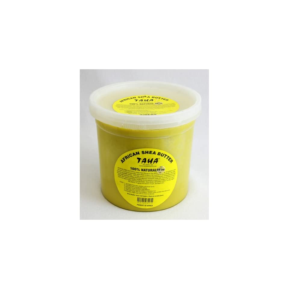 64oz (4lbs) Raw Shea Butter From Ghana
