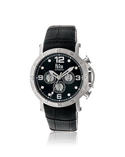 Reign Men's REIRN3502 Toretto Black Leather Watch