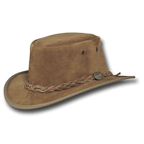 b61b4e0596b Barmah Hats Narrow Brim Leather Hat 1094BL   1094CH   1094HI   1094LM    1094RB