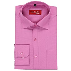 Magson Ace Men's Formal Shirt 1968096031_Pink_44