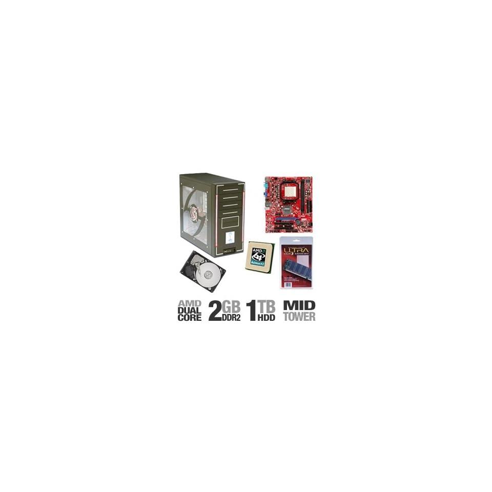 MSI K9N6PGM2 V2 PowerUp Barebones Kit