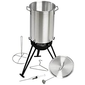Eastman Outdoors 37069 30 Stainless Steel Professional Outdoor Cooking Set with CSA Shut Off from Eastman Outdoors