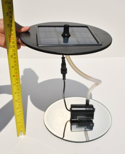how to connect solar kit to fountain pump