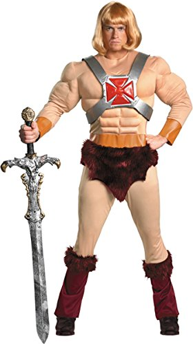 Morris Costumes He-Man Masters of the Universe Outfit - Standard Size