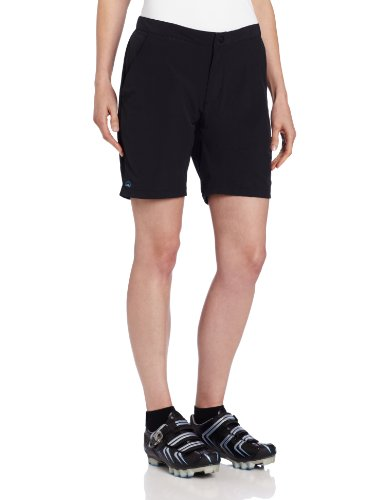 Zoic Women'S Posh Shorts With Essential Rpl Liner, Black, Large