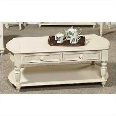 Picture of Wynwood Hadley Pointe Cocktail Table in Antique Parchment 1655-01 B003UL7A86 (Wynwood)