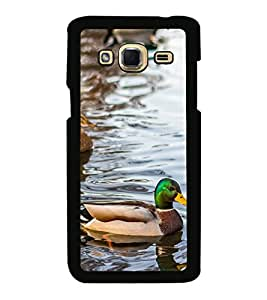 Vizagbeats Coloured Duck Back Case Cover For Samsung Galaxy J3