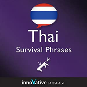 Learn Thai - Survival Phrases Thai, Volume 1 Audiobook