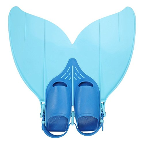 Yosoo Kinder Monoflosse Monofin Meerjungfrau Flossen Schwimmen Training