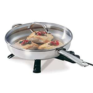 Presto 07300 Stainless Steel Electric Skillet 12 inch