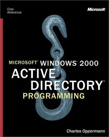 Microsoft Windows 2000 Active Directory Programming PDF