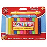 Plasticine Neon Color Set by Play Visions