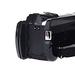Kingzer 1080P Digital Video Camcorder Full HD 16MP 16x Digital Zoom DV Camera Kit HDV-614A