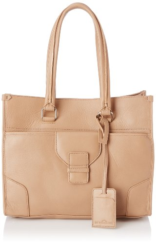 La Bagagerie Women's Cap Pm Shoulder Bag Beige Beige (Taupe) Taille Unique